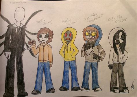 Creepypasta Characters 2 By Nayacat On Deviantart