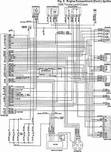 Toyota Land Cruiser 1988 Fj60 Engine Compartment  Cont  And Ignition Wiring Diagram