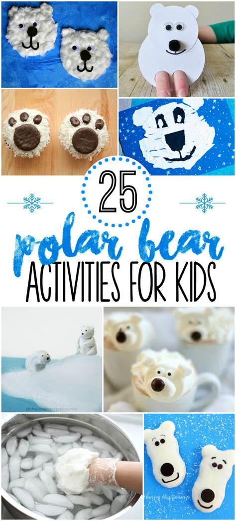 polar activities for pre k pages 923 | 25 Polar Bear Activities for Kids