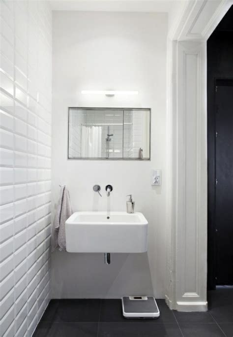 Grey Bathroom Walls – Lavish Bathroom Interior Design for London Residence Godrich Interiors with Black Walls and