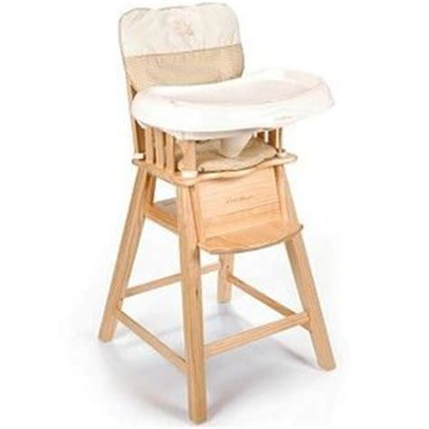 Light Wood Eddie Bauer High Chair by Eddie Bauer Eddie Bauer Wood High Chair 03033b4b Reviews