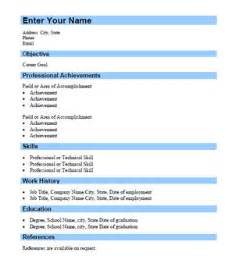 Curriculum Vitae Format Word File by Simple Steps To Make A Cv