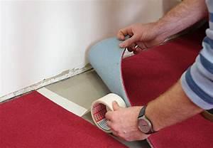 Teppich Auf Teppichboden : obi anleitung teppich verlegen teppichverlegung ~ Lizthompson.info Haus und Dekorationen
