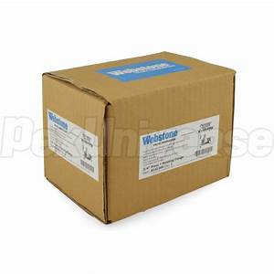 Webstone 81413hv  3  4 U0026quot  Press Isolator Flange Valve W