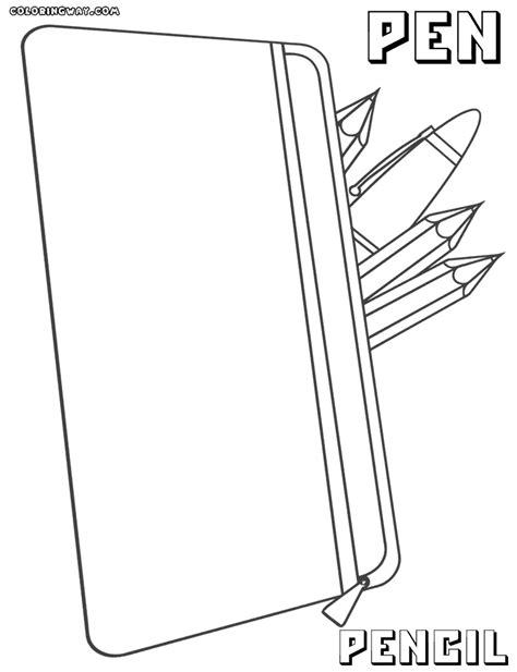 coloring pens pen coloring pages coloring pages to and print