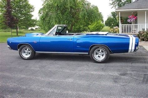 Boat T Top Dodge by Find Used 1968 Dodge Coronet 500 Convertible 2 Door R T