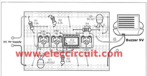 Temperature Detector Circuit Eleccircuit