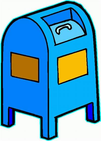 Mailbox Clipart Clip Office Mail Transparent Return