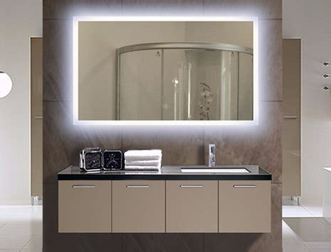 illuminated bathroom mirror lighted wall mirrors