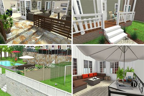 Home Yard Design Software : Create Outdoor Areas With Roomsketcher