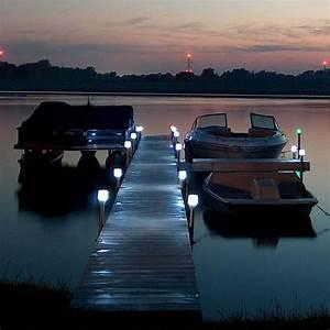 solar dock lights outdoor boat dock post light cabin With outdoor solar lights for docks