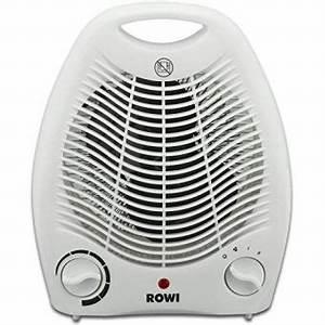Chauffage Electrique D Appoint : radiateur soufflant lectrique rowi chauffage d 39 appoint ~ Melissatoandfro.com Idées de Décoration
