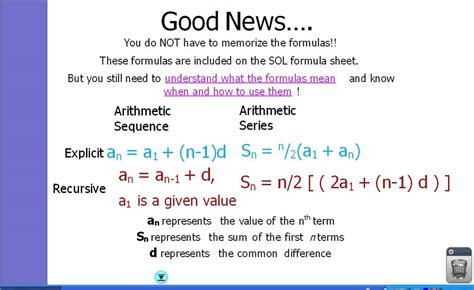 Day 12 Arithmetic Series And Geometric Sequences Youtube