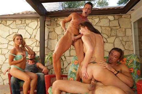 Swingers Wife Swap 4 The Block Party Adam And Eve Image