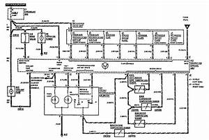 Mercedes-benz 300e  1990 - 1991  - Wiring Diagrams - Hvac Controls