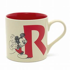 mickey mouse letter r mug the mickey mouse clubhouse With letter r mug