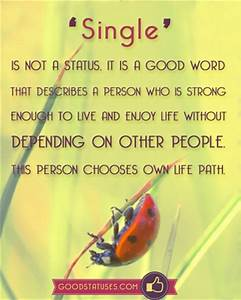 Single statuses... Facebook Single Quotes