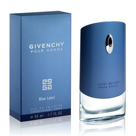 givenchy pour homme blue label eau de toilette spray 50ml