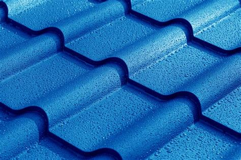 sheets of tin types of metal roofing materials