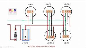 Wiring Diagram For House Light Switch  With Images