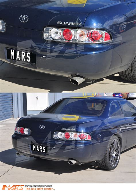 Crystal Clear Altezza Tail Lights for Toyota Soarer ...