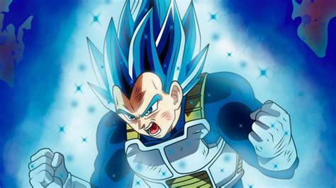 super saiyan blue evolution vegeta power  history