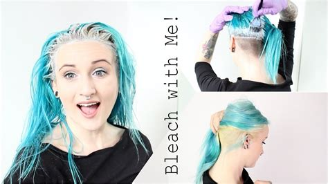 Bleach My Roots & Undercut With Me!