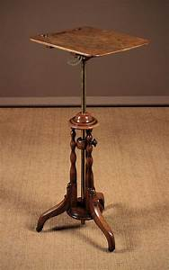 Metamorphic, Music, Stand, And, Side, Table, C, 1890