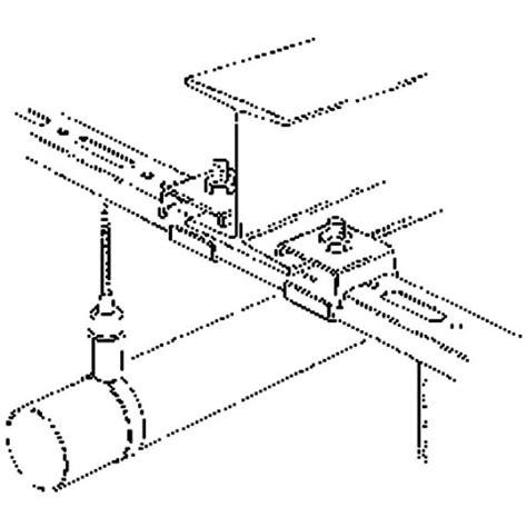 fournisseur de fourniture de bureau fixation pour rail sur ipn type r1 flamco cazabox