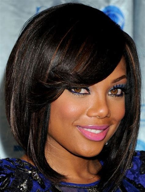 Medium Length Hairstyles For Black With Faces by 27 Hairstyles And Haircuts For Black Of Class