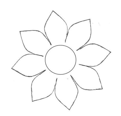 bloem tekenene pin harma hommad op sjabloon bloem