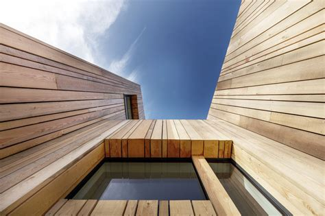 vertical wood siding covers  contemporary holiday