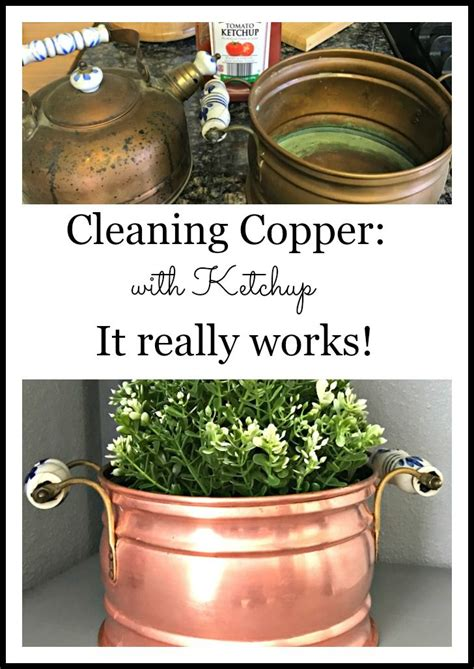 clean  copper  ketchup cleaners cleaning pans clean pots   clean copper