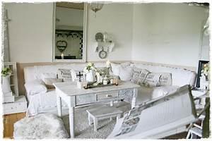 Shabby Chic Deko Onlineshop : lovely vintage shabby chic wohnzimmer deko im historischen bauernhaus jetzt mit kirchenfenstern ~ Frokenaadalensverden.com Haus und Dekorationen