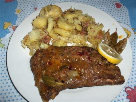 m ier de la cuisine reteta costita in sos de miere si cartofi gratinati cu bacon