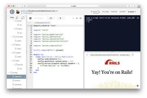 repl program apps ide lets browser playgrounds grows fullstack techcrunch rails masad amjad start started sinatra languages applications