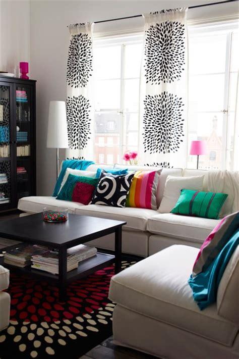 curtains diy idea scandinavian brights living room