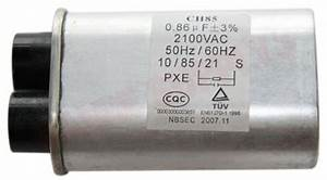 Wg02f05943   Ge Microwave High Voltage Capacitor