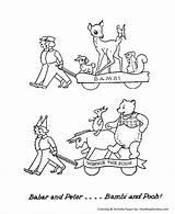Parade Float Coloring Drawing Bambi Floats Clip Clipart Cartoon Pooh Sheets Cliparts Getdrawings Sheet Holiday Macy Library Honkingdonkey sketch template