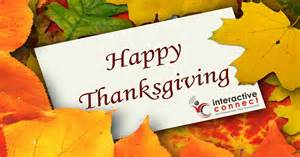 interactive connect wishes you and yours a happy thanksgiving interactive connect