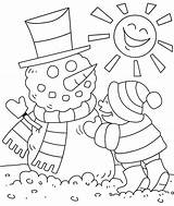 Coloring Winter Pages Printable Preschool Colouring Toddlers Print Christmas Google sketch template