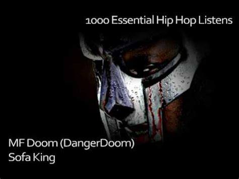 mf doom dangerdoom sofa king 441 1000 essential hip hop listens