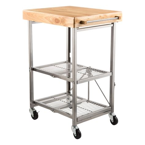 origami folding kitchen island cart with wheels kitchen cart origami kitchen cart the container 9674