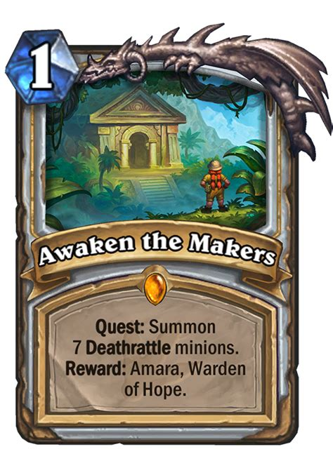 Hearthstone Deck Ungoro by Awaken The Makers Hearthstone Card