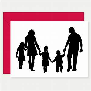 Family Silhouette - ClipArt Best