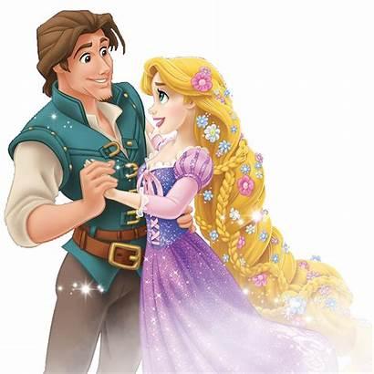 Rapunzel Tangled Clipart Princess Transparent Disney Taller