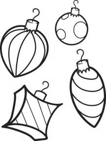 free printable christmas ornaments coloring page for kids