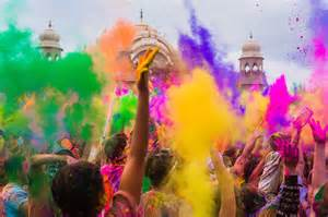 the best places in india to celebrate holi studentuniverse