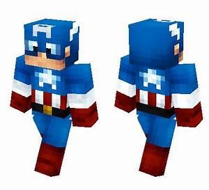 Captain America Minecraft Skin Minecraft