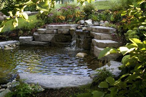 terrasse et jardin optez pour le bassin la fontaine ou l 233 tang